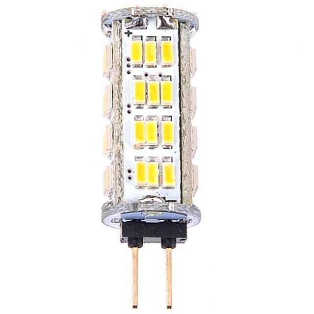 YWXLIGHT® 1pc 3 W 360 lm G4 LED-maïslampen T 57 LED-kralen SMD 3014 Koel wit 12 V / RoHs