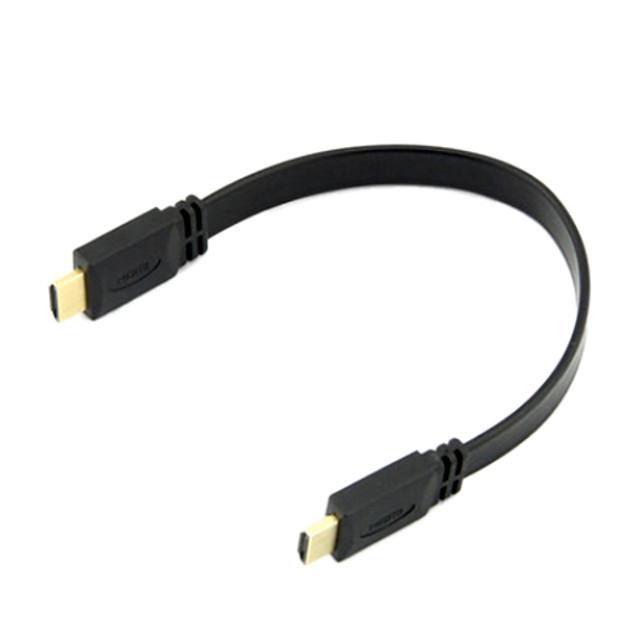 HDMI v1.4 masculin 1080p la masculin cablu 30cm de mare viteză