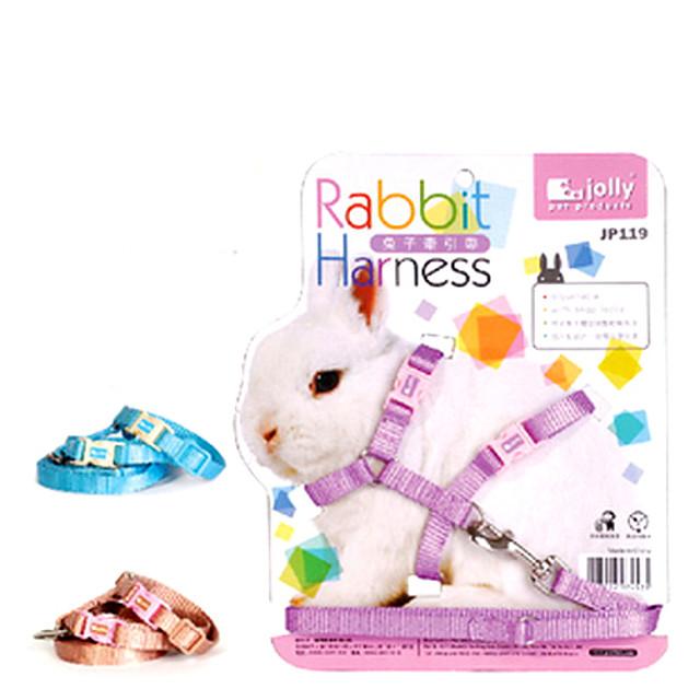 vesel jp119 curea de tractiune pentru animale de companie iepuri (culori aleatorii)