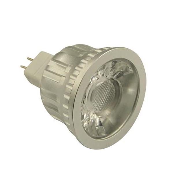 LED bodovky 500-550 lm GU5,3(MR16) MR16 1 LED korálky COB Stmívatelné Teplá bílá Chladná bílá 12 V / # / CE / RoHs