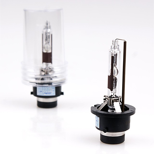 2 Pieces D2R 8000k 12V 35W HID Xenon Low Beam Replacement Light Bulbs For Headlight