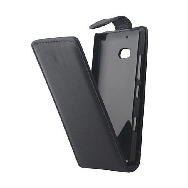 Maska Pentru Nokia / Nokia Lumia 930 Carcasă Nokia Întoarce Carcasă Telefon Mată Greu PU piele pentru