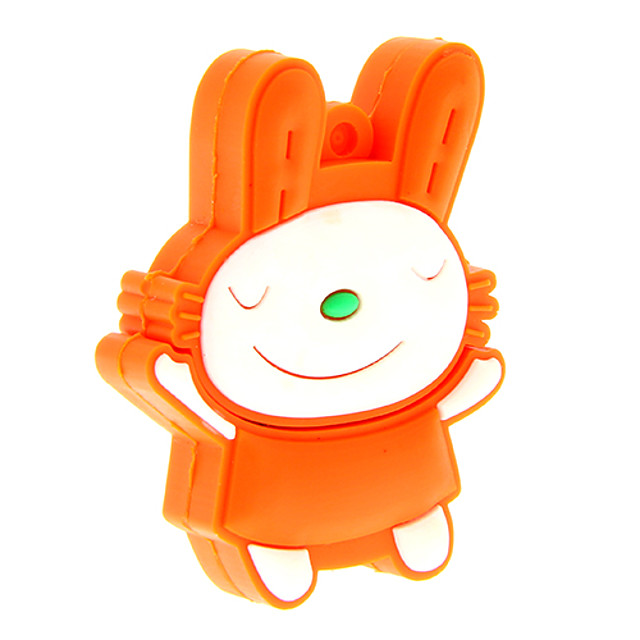 ZP51 8GB Cartoon Lovely Rabbit USB 2.0 Flash Drive