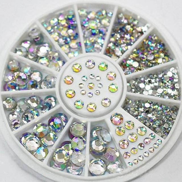 1 pcs 100% Acryl Neglesett Dekorasjon Abstrakt Elegant & Luksuriøs Bryllup Negle Smykker til Fingernegl finger tå