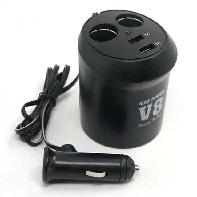 LOSSMANN Încărcător de Mașină 2 Porturi USB pentru 5 V