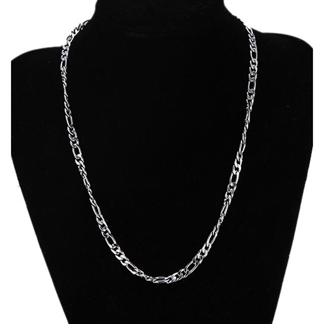 Lănțișoare Figaro lanț Mariner Chain Design Unic Modă Argilă Argintiu Coliere Bijuterii Pentru Cadouri de Crăciun Petrecere Cadou Zilnic Casual