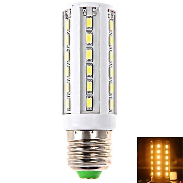 1 buc 10 W Becuri LED Corn 900LM E14 B22 E26 / E27 T 42 LED-uri de margele SMD 5730 Alb Cald Alb Rece Alb Natural 100-240 V