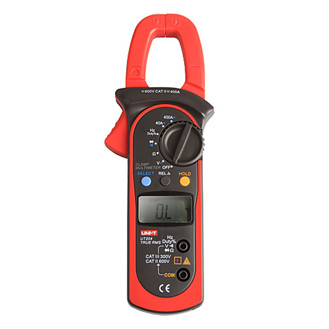 UNI-T UT204 LCD Ampermetre digitale Multimetre RMS 600V/400A 10Hz ~ 1MHz Digital Multimetru Clamp