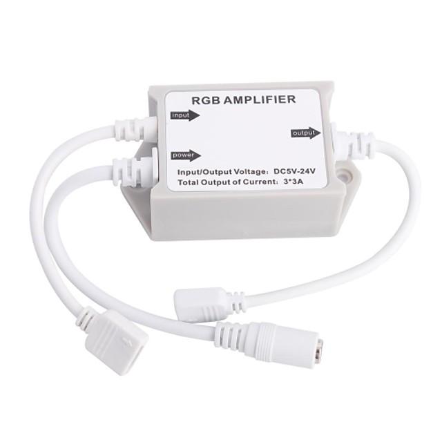 RGB LED amplificateur pour 5050 rgb smd a mené la lumière de bande (cc 5-24 V)