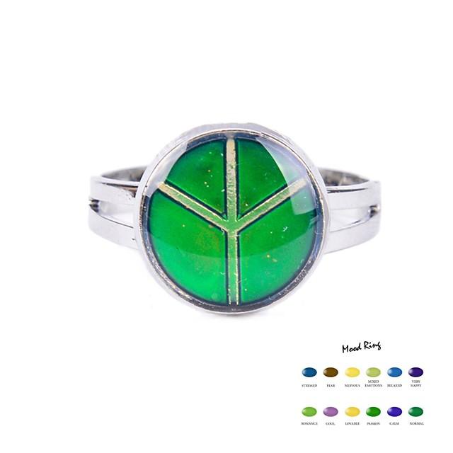 Pentru femei Band Ring Verde Email Aliaj Zilnic Casual Bijuterii culoare Gradient