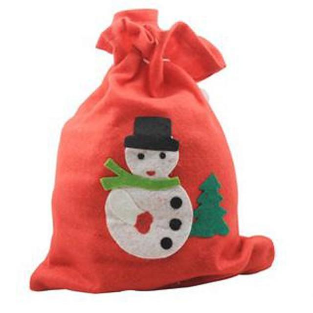 30 * 20cm Crăciun sac cadou decal