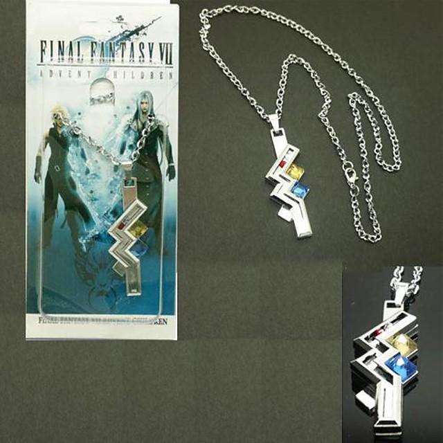 Schmuck Inspiriert von Final Fantasy Lightning Anime / Videospiel Cosplay Accessoires Halsketten Aleación Herrn / Damen Halloween Kostüme