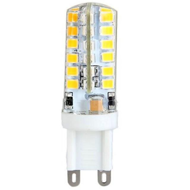 YWXLIGHT® 1 buc 3 W Becuri LED Corn 300 lm G9 T 48 LED-uri de margele SMD 2835 Alb Cald 100-240 V