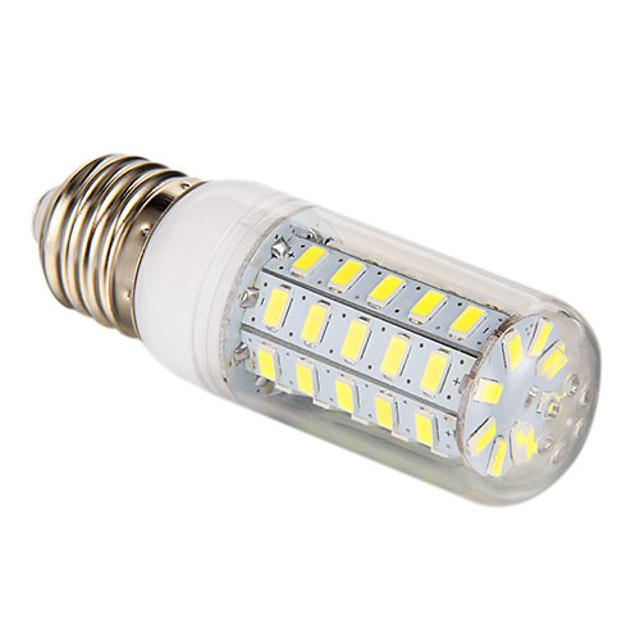 3.5 W Becuri LED Corn 300-350 lm E26 / E27 T 48 LED-uri de margele SMD 5730 Alb Natural 220-240 V