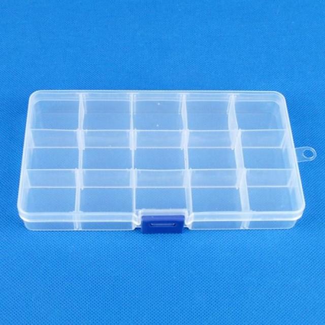 Pătrat Cutii de Bijuterii - Reșină Modă Διαφανές 17.5 cm 10 cm 2.5 cm / Pentru femei
