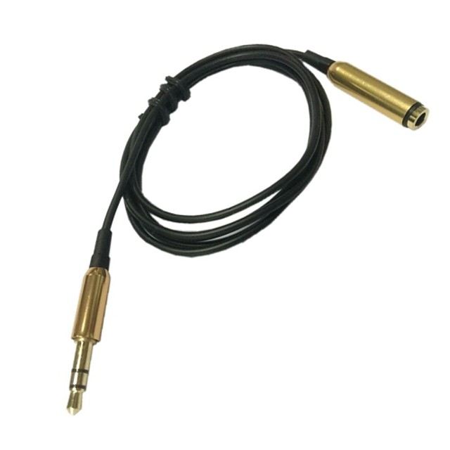 1m 3ft 3.5mm aux bărbat din cordonul ombilical auxiliar pentru cablu audio stereo de sex masculin pentru PC-ul iPod mp3 auto