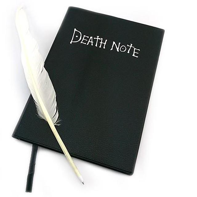 Mai multe accesorii Inspirat de Death Note Cosplay Anime Accesorii Cosplay Mai multe accesorii PU piele Hârtie Bărbați Pentru femei fierbinte Costume de Halloween