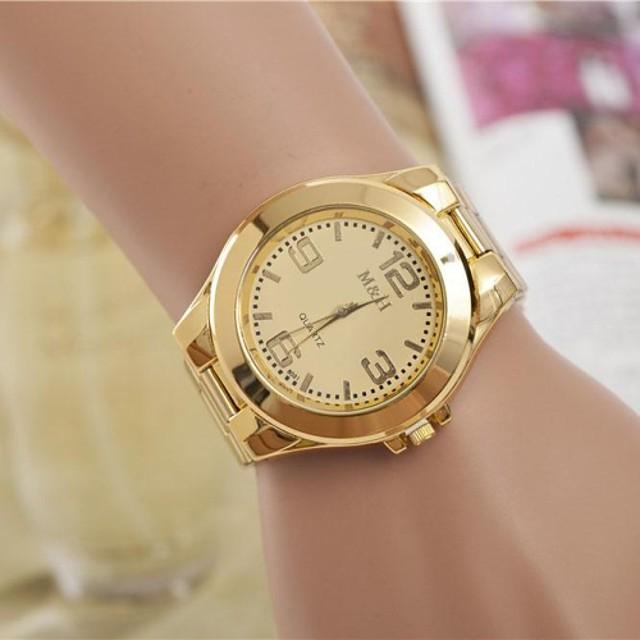 Pentru femei femei Ceas de Mână ceas de aur Quartz Argint / Auriu Ceas Casual Cool Analog Modă Elegant - Auriu Argintiu Un an Durată de Viaţă Baterie / SSUO LR626