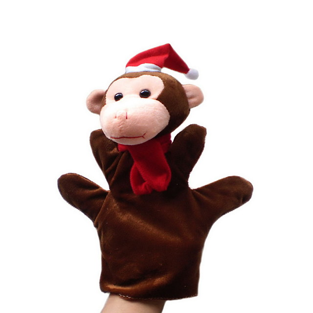 Păpuși de Degete Păpuși Păpușă Mână Maimuţă Drăguț Novelty Încântător textil Pluș Joc imaginar, ciorapi, daruri de mare aniversare Băieți Fete
