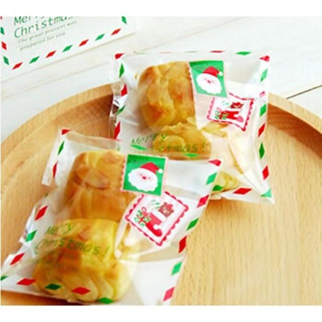 10 piese de Moș Crăciun plic bomboane sac