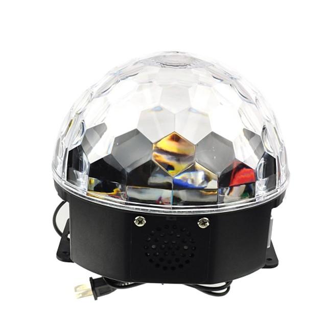 1 buc LED-uri de margele Intensitate Luminoasă Reglabilă Activare-Sunet Încântător Schimb 100-240 V