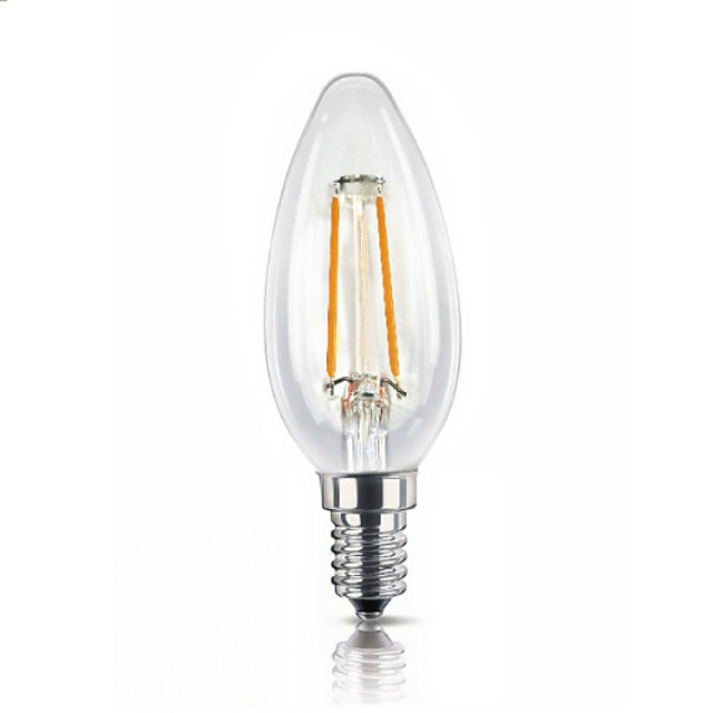 UMEI™ 1 buc 1.8 W E14 E14 2300 k Bec Filet LED 220-240 V