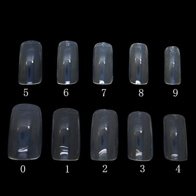 500pcs For Finger nail art Manicure Pedicure Abstract / Classic Daily