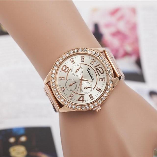 Pentru femei Ceasuri de lux Ceas de Mână Diamond Watch Quartz Argint / Auriu / Roz auriu Analog femei Sclipici Modă - Argintiu Auriu Roz auriu Un an Durată de Viaţă Baterie / Jinli 377