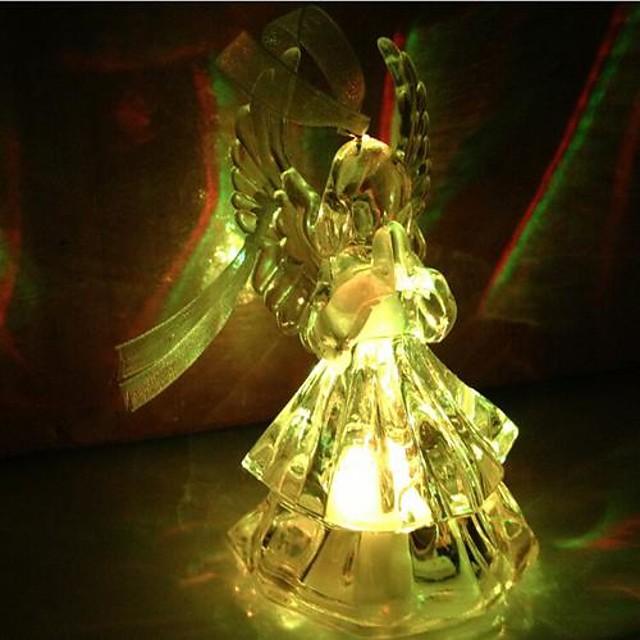 coway acrilic se roagă îngerii colorat condus de lumina de noapte de înaltă calitate