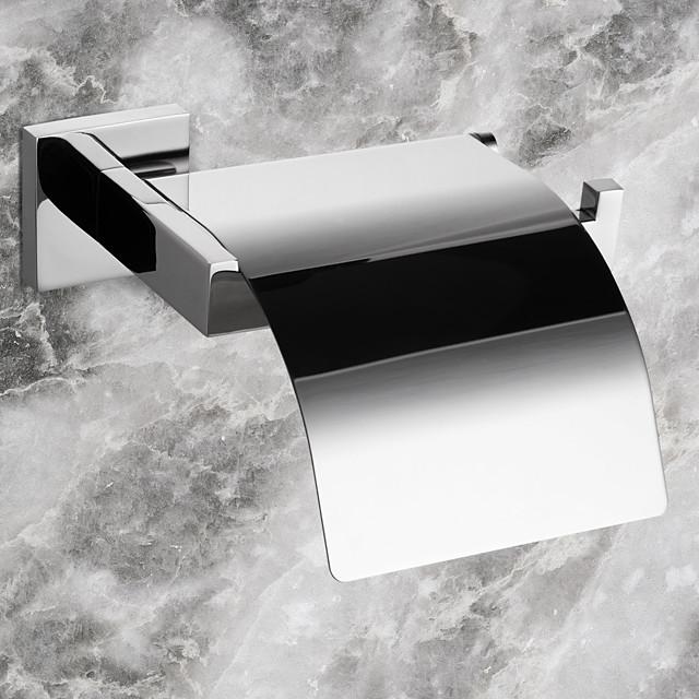 Suporturi De Hârtie Igienică Contemporan Teak 1 piesă - Hotel baie