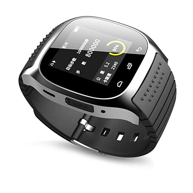 Ceasul inteligent m26 acceptă controlul media / apeluri mâini libere / pedometru / anti-pierdere