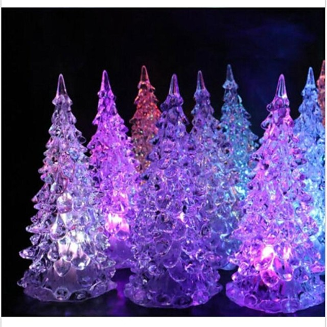 1set Santa Lumini De Crăciun Incandescent, Decoratiuni de vacanta Ornamente de vacanță