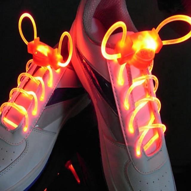 SENCART รองเท้าผูกเชือก LED แบตเตอรี่ Waterproof / หรี่แสงได้