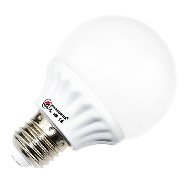 Bulb LED Glob 760 lm E26 / E27 40 LED-uri de margele SMD 2835 Decorativ Alb Natural 85-265 V