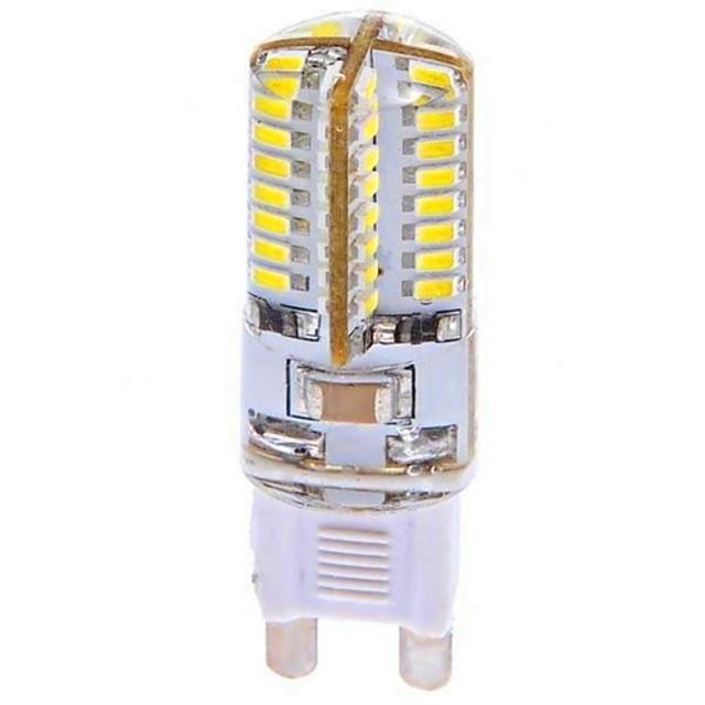 YWXLIGHT® 3 W Becuri LED Corn 360 lm G9 T 64 LED-uri de margele SMD 3014 Alb Rece 100-240 V