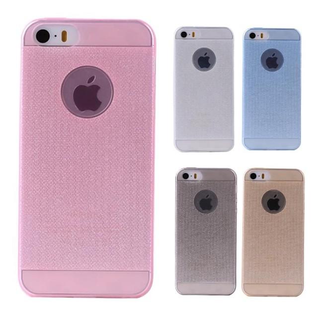 Maska Pentru Apple iPhone 8 Plus / iPhone 8 / iPhone 7 Plus Translucid Capac Spate Mată Moale Silicon
