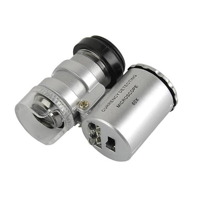 universal obiectiv 60x microscop stabilite pentru iPhone / iPad / Samsung / HTC + mai multe telefoane mobile / tablet pc