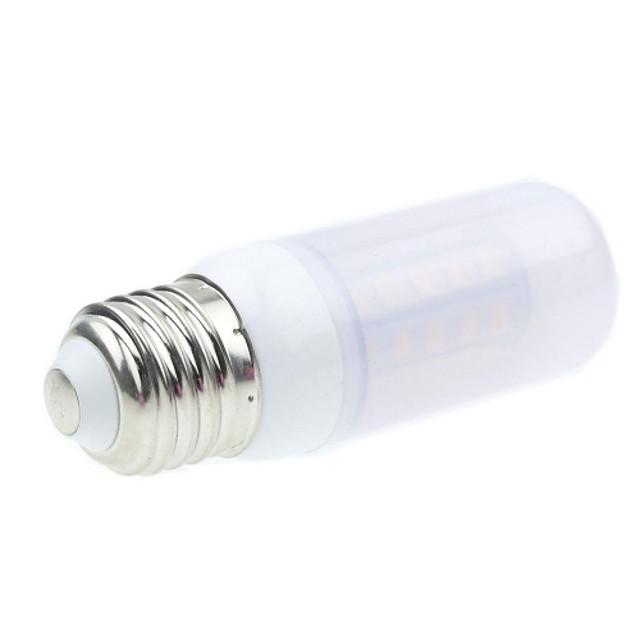 SENCART 1 buc 5 W Bulb LED Glob 450-500 lm E26 / E27 36PCS LED-uri de margele SMD 5730 Decorativ Alb Cald 12 V