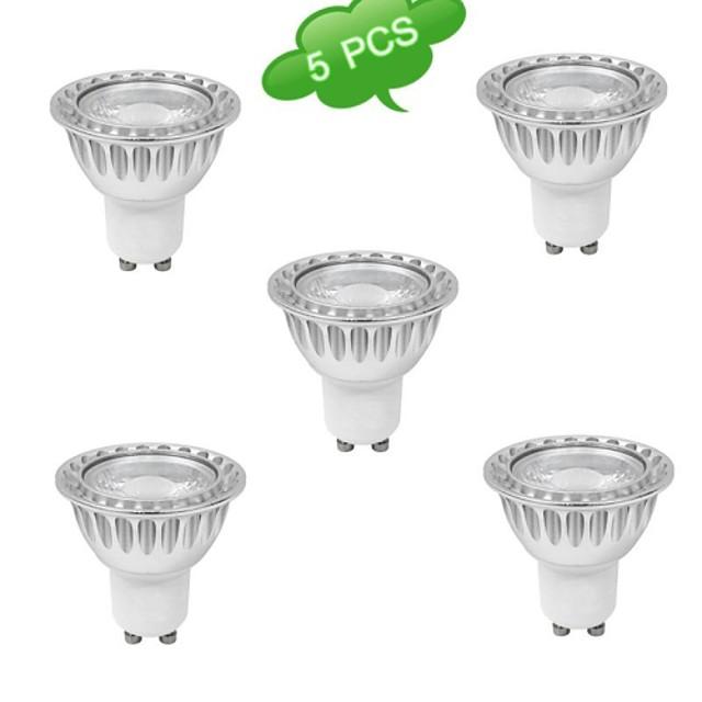 Spoturi LED 720 lm GU10 MR16 1 LED-uri de margele COB Intensitate Luminoasă Reglabilă Alb Cald 220-240 V / RoHs / CE