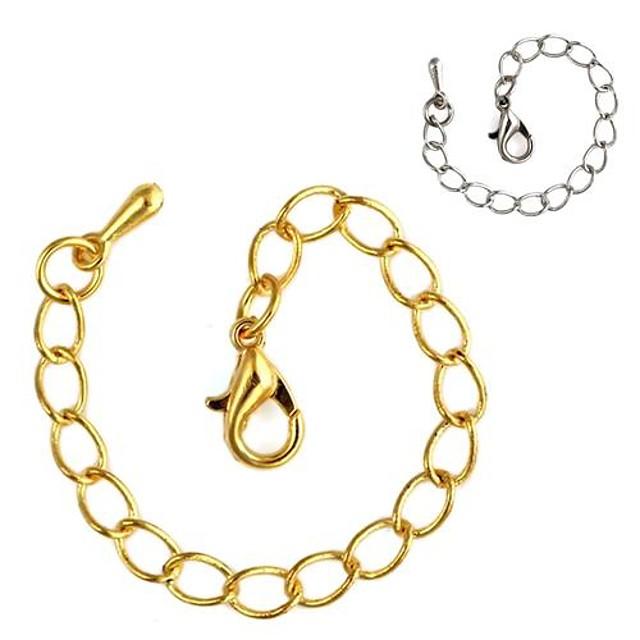 Lănțișoare Aliaj Argintiu Auriu Coliere Bijuterii Pentru Zilnic Casual