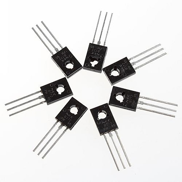 transistorn 2sb772 b772 till-126 paket (10st)