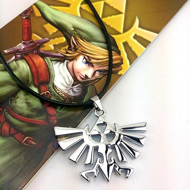 Bijuterii Inspirat de The Legend of Zelda Cosplay Anime / Jocuri Video Accesorii Cosplay Coliere Aliaj Bărbați Costume de Halloween