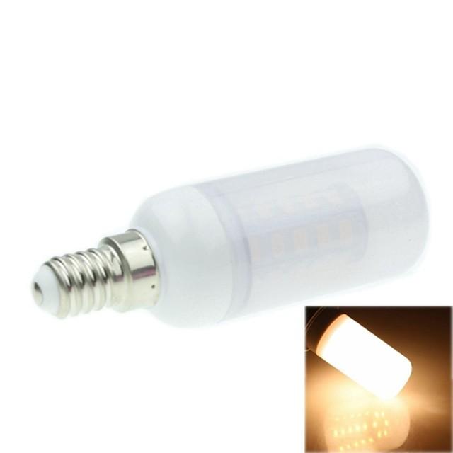 SENCART 1 buc 7 W Becuri LED Corn 3000-35000 lm G9 T 36 LED-uri de margele SMD 5730 Alb Cald 12 V