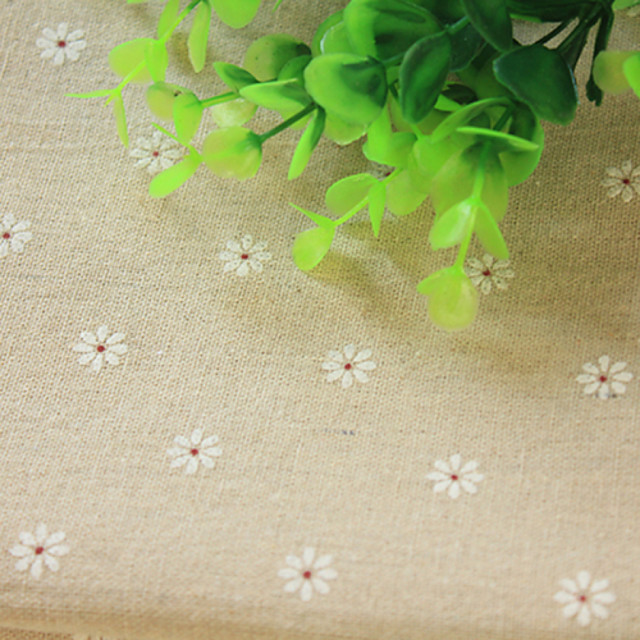 Qihang 50*50CM Diablement Fort Cloth Photography Background/Wallpaper Paper with Sunflower Pattern