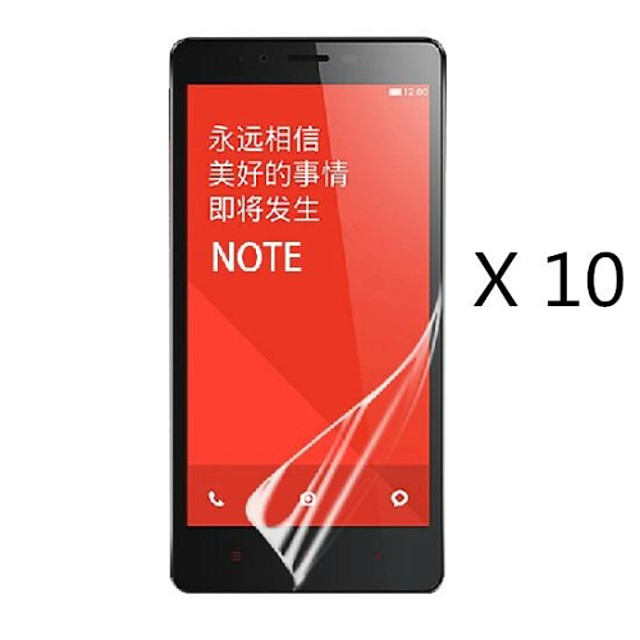 (10 stk) high definition skærm protektor for Xiaomi redmi