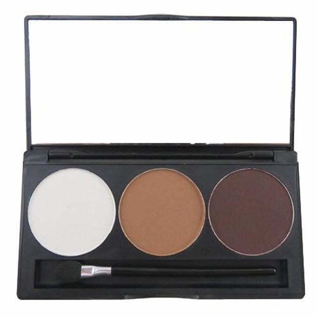 3 Culori Sprâncene Pudre Uscat / Mat / Mineral Ochi Machiaj Cosmetic