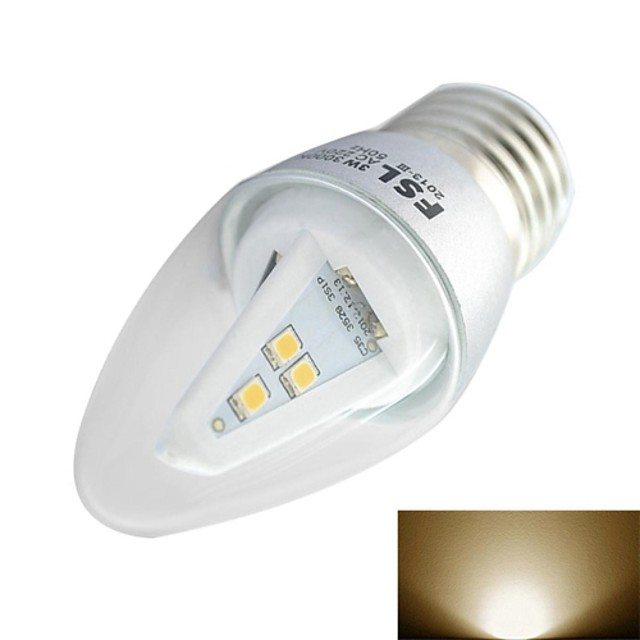 180LM E26/E27 LED Filament Bulbs 9 LEDs SMD 3528 Sound-Activated Warm White 3000KK AC 220-240V
