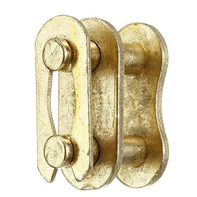 5pcs auriu # 420 unire lanț de rulare împărțit rege link-ul groapă murdărie biciclete atv quad