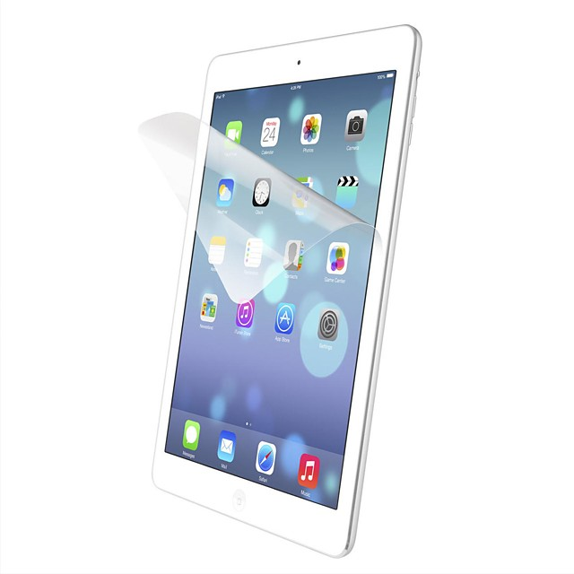 Ecran protector pentru Apple iPad Air 2 PET 4 piese Ecran Protecție Față High Definition (HD) / Ultra Subțire