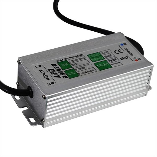 85-265 V Rezistent la apă Aluminiu Alimentare 100 W
